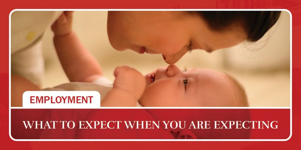 What to expect when you are expecting
